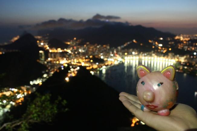 Peggy à Rio !