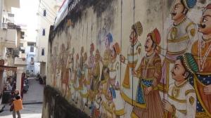 Les rues d'Udaipur