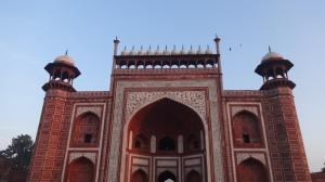La porte Sud du Taj Mahal