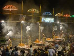 Cérémonie du ganga aarti