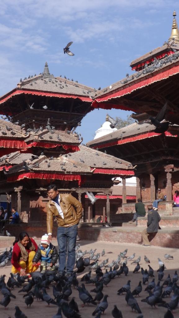Le Durbar Square à Katmandou