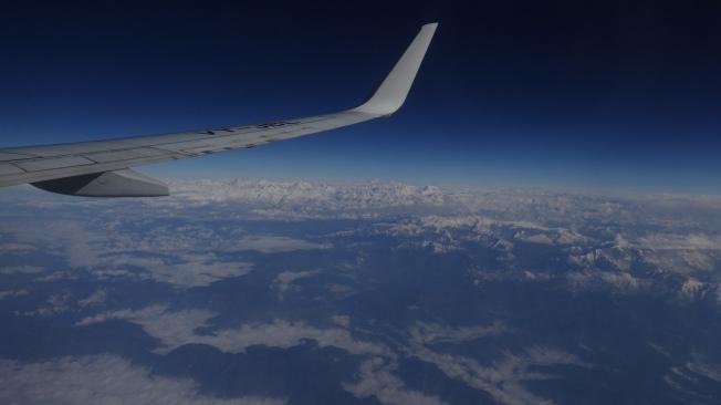Le Népal vu du ciel