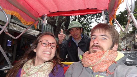 Nous et Thien, le chaufffeur :D