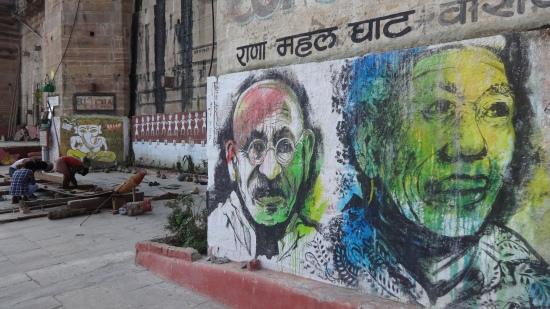 Inde - Varanasi - Balade sur les quais (16)