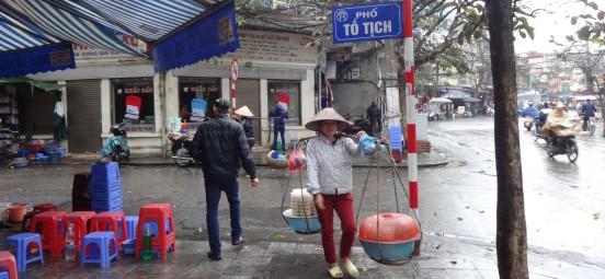 Viet - Hanoi - La ville sous la pluie (1)bis