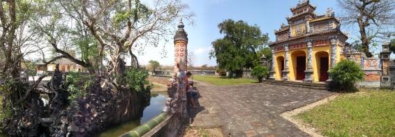 Dans la citadelle de Hué