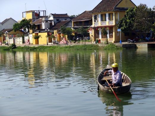 Le fleuve de Hoi An