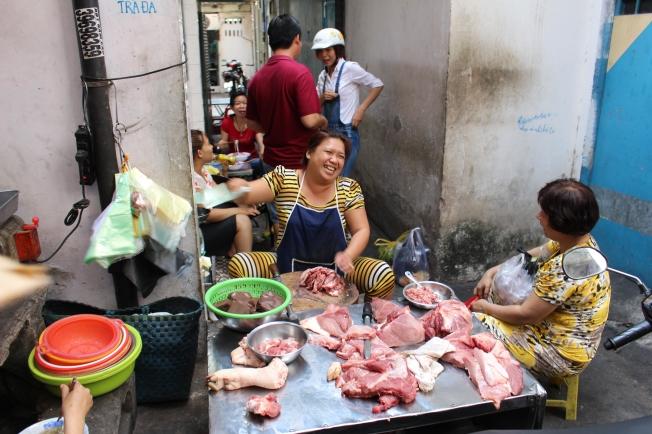 Les marchés de rue à Saigon