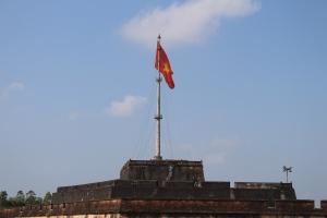 Le drapeau de la citadelle