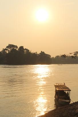 Laos - Don Det - La ville (2)