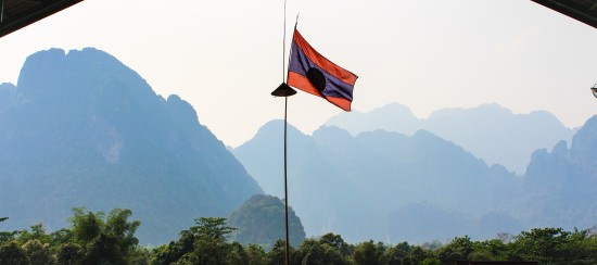 Laos - Vang V - La ville (4) bis