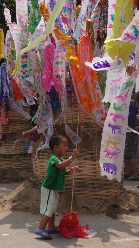 Les drapeaux de prière