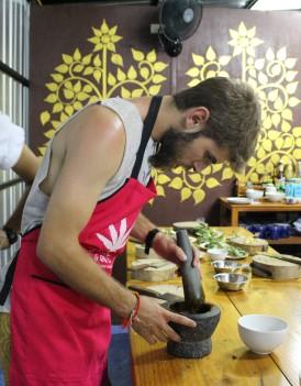 Le cours de cuisine thai