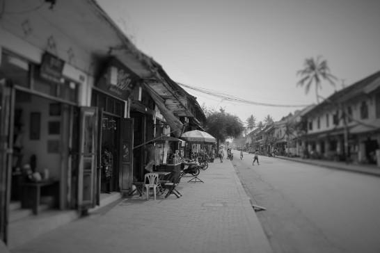 Les rues de Luang Prabang