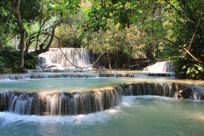 La cascade de Kuang Si