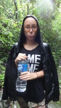 Trek sous la pluie