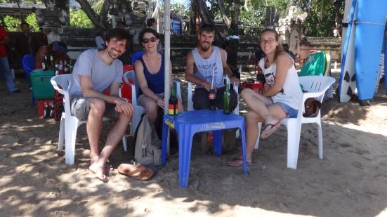 Petite bière sur Kuta Beach