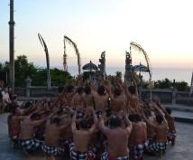 Les chorites de Kechak Fire Dance