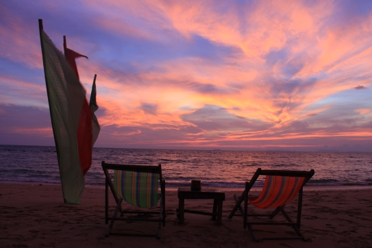 Thai - Koh Lanta - Couchée de soleil de Fou (2)