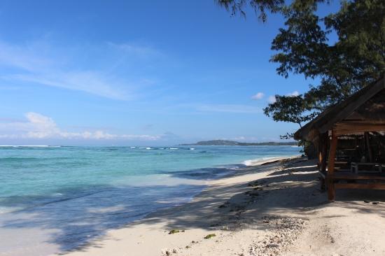 La plage de Gili Air