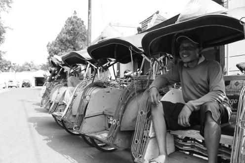 Les bekaks de Yogyakarta