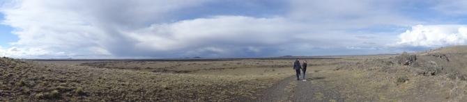 Paysage typique de Patagonie
