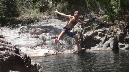Aus - Road Trip - J6 - Dans l'eau, on fait les idiots (15)