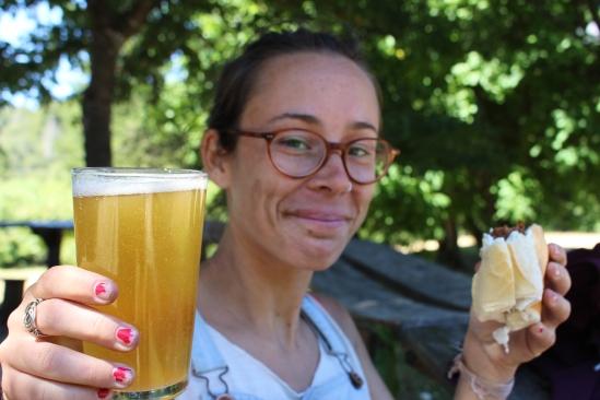 Bière artisanale et choripan !