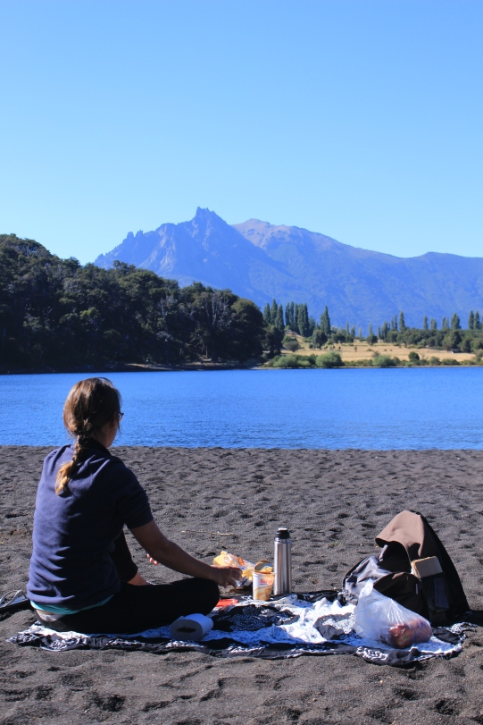 Petit déj' au bord du lac