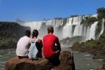 Arg – Iguazu – Tous les trois aux chutes(3)