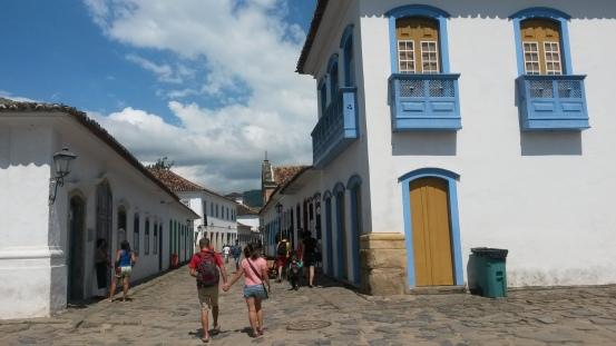 Le petit centre historique de Paraty