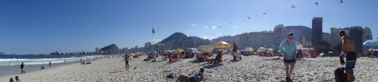 La plage de Copacabaaaana