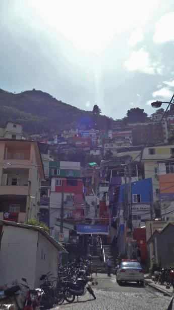 La favela, une fois tout redescendu