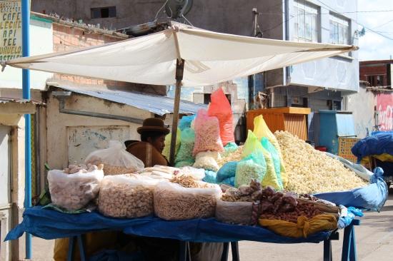 Les Pops Corns boliviens et autres graines soufflées !
