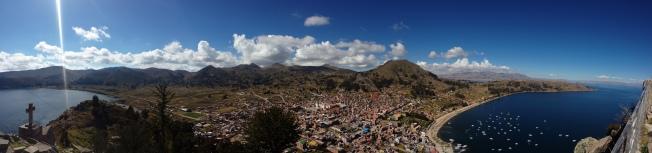 Vue depuis le Cerro Calvario