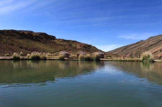 Le lac à 30°C de l'Ojo del Inca