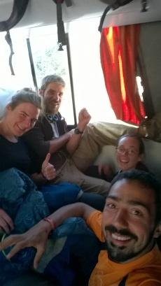 Bol - Tupiza - Le bus (5)