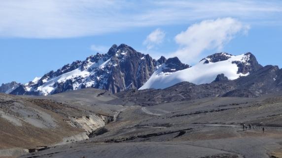 Départ de la Cumbre, J1