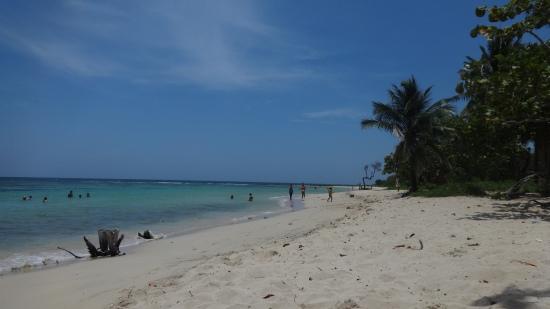 La plage de Jibacoa.