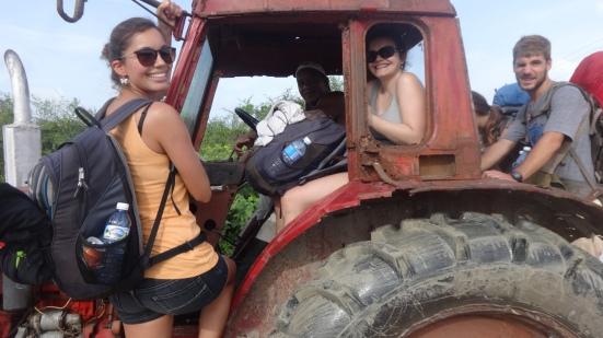 5 sur le tracteur, Oui, ca passe !!!