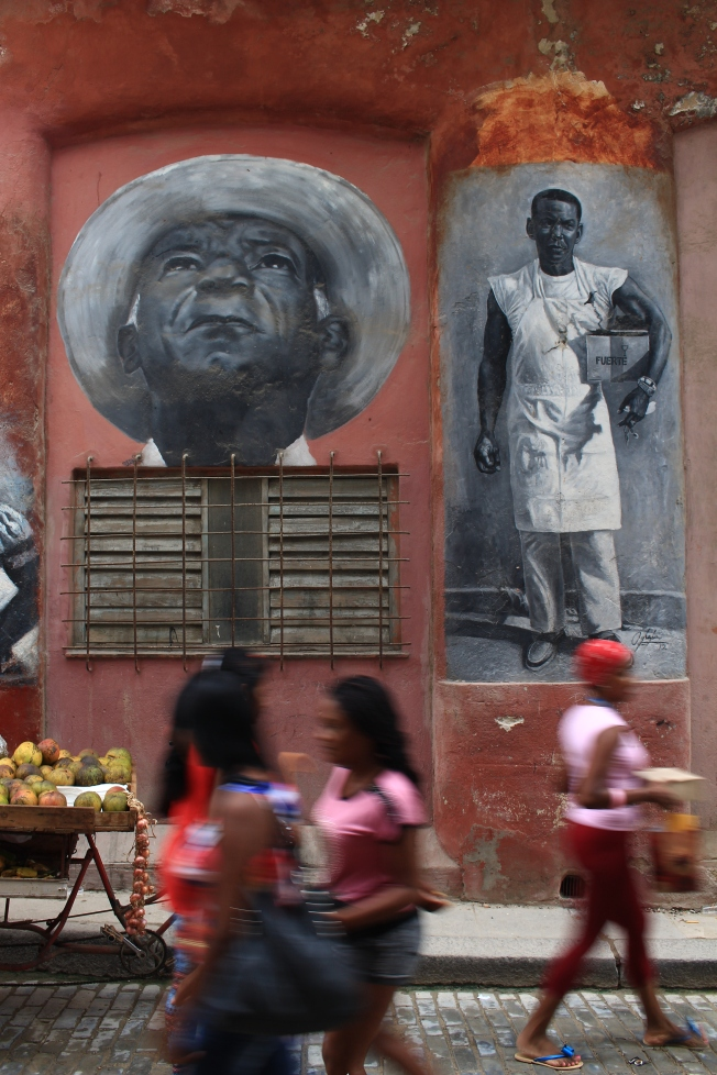 L'agitation d'Havana vieja.