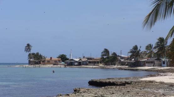 Le petit village de La Boca