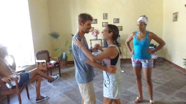 Cuba - Trinidad - Cours de salsa (12)