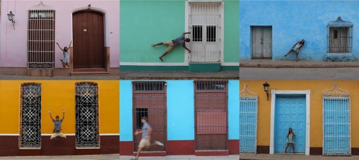 Cuba - Trinidad - Photo Montage