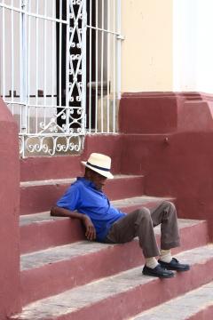 Cuba - Trinidad - Plaza Mayor (4)