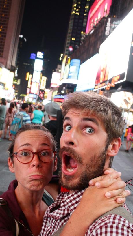 Des poutoux de Time Square !!