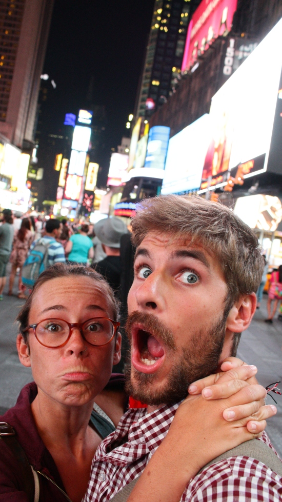 New York - Des poutoux à times square (4)