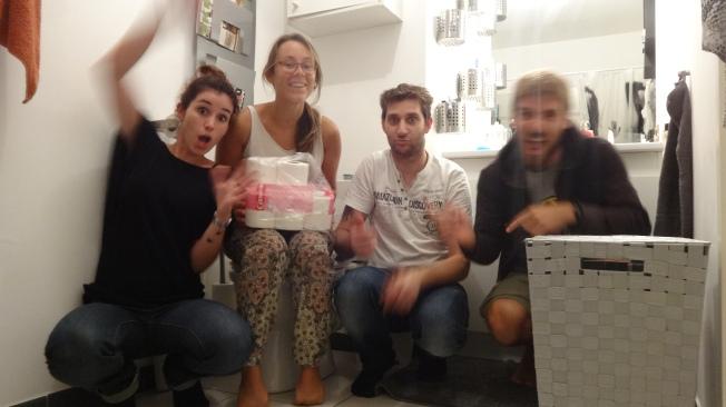 A MONTPELLIER, avec Solène et Cédric !!