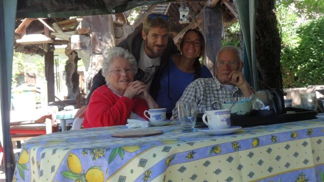A SAINT JEAN D'HERANS, chez les grands-parents de Maxime
