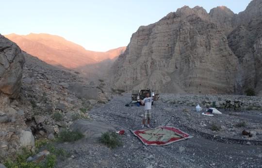 """Glamping"" dans un wadi à Ras Al Khaimah"
